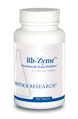 Rb-Zyme(Rubidium)100 Tablets   Biotics Research