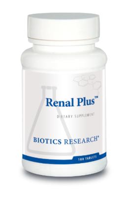 Renal Plus 180 Tablets Biotics Research