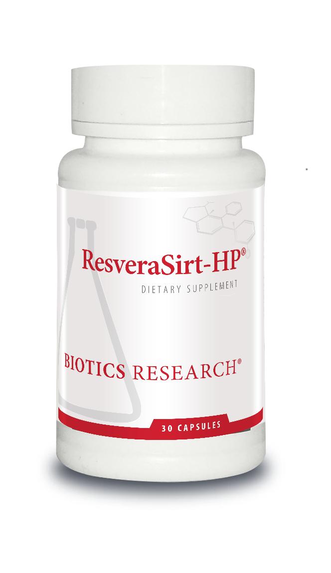 ResveraSirt-HP 30 Capsules Biotics Research