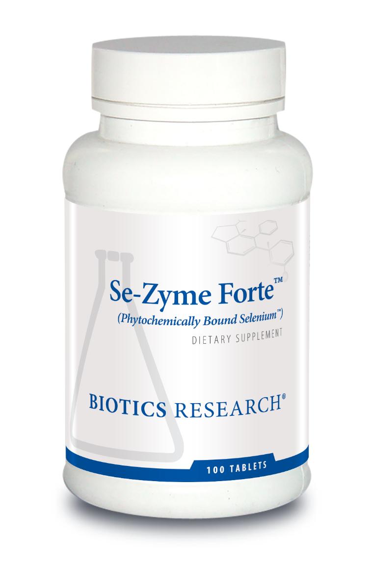 Se-Zyme Forte 100 Tablets  Biotics Research