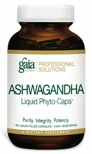 Ashwagandha Root 60 Liquid Phyto-Capsules Gaia Herbs