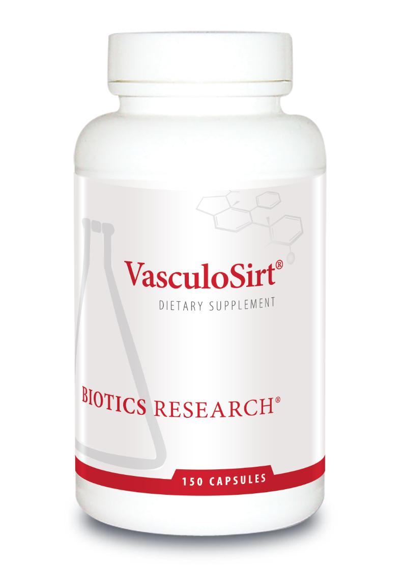 VasculoSirt 150 Capsules Biotics Research