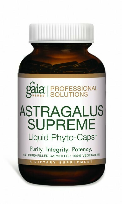 Astragalus Supreme  60 capsules Gaia Herbs