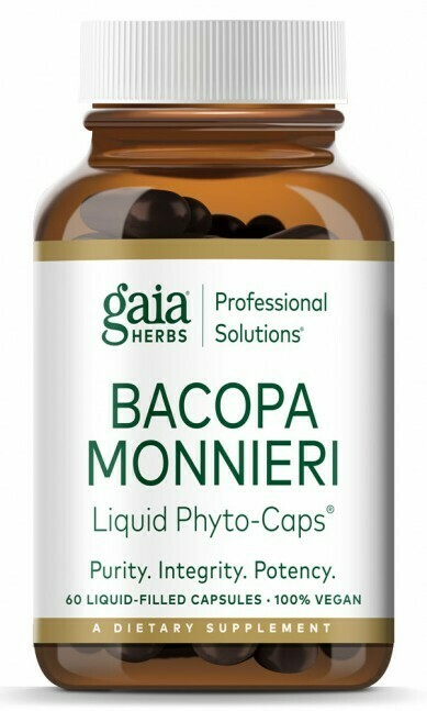 Bacopa Monnieri,Gaya Herbs ,60 capsules