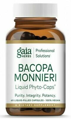 Bacopa Monnieri 60 capsules Gaia Herbs