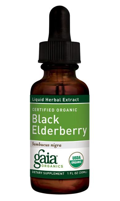 Black Elderberry, Certified Organic