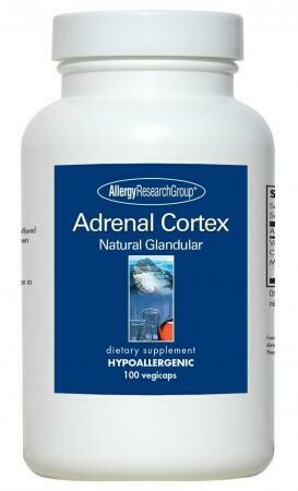 Adrenal Cortex  100 mg 100 Vegicaps Allergy Research Group