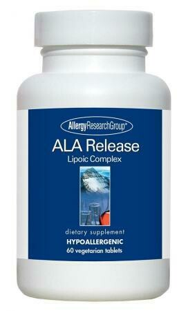 ALA Release Allergy Research Group 60 Vegetarian Tablets