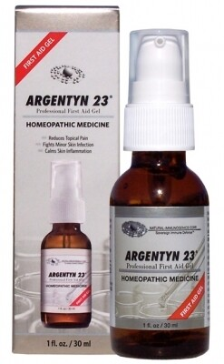 Argentyn 23®, Allergy Research Group ,First Aid Gel 59 mL (2 fl. oz.)