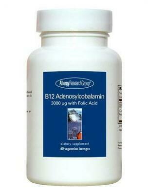 B12 Adenosylcobalamin 60 Vegetarian Lozenges Allergy Research Group