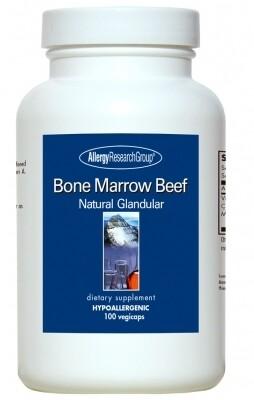 Bone Marrow Beef 100 Vegicaps Allergy Research Group