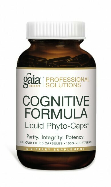 Cognitive Formula 60 capsules  Gaia Herbs