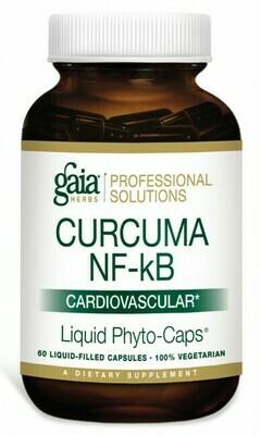 Curcuma NF-kB: Cardiovascular 60 capsules Gaia Herbs