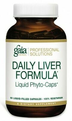 Daily Liver Formula 60 capsules  Gaia Herbs