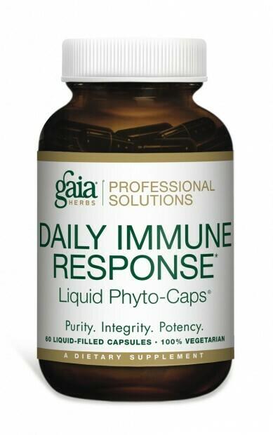 Daily Immune Response 60 capsules Gaia Herbs