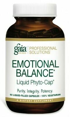 Emotional Balance 550 mg 60 capsules Gaia Herbs