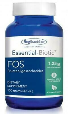 Essential-Biotic® FOS 100 grams (3.5 oz.) Allergy Research Group