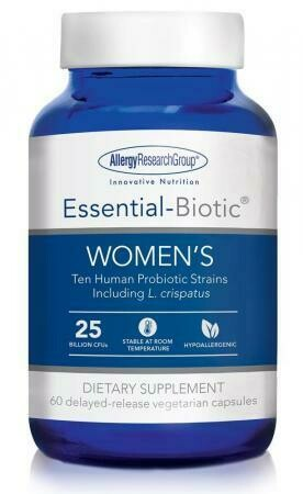 Essential-Biotic® WOMEN'S Allergy Research Group   60 delayed-release vegetarian capsules