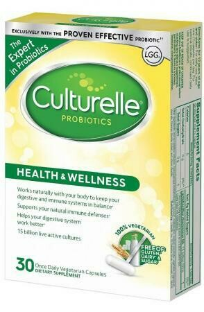 Culturelle® Probiotic Allergy Research Group 30 Vegetarian Capsules
