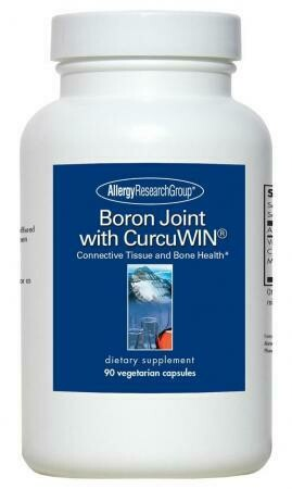 Boron Joint with CurcuWIN 90 Vegetarian Capsules Allergy Research Group