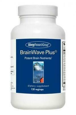 BrainWave Plus® ,Allergy Research Group,120 Vegicaps