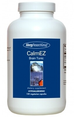 CalmEZ Brain Tonic Allergy Research Group 30 Capsules