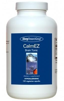 CalmEZ Brain Tonic Allergy Research Group 150 Capsules