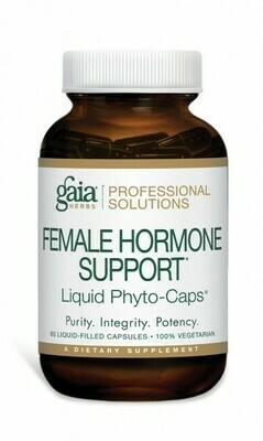 Female Hormone Support 60 capsules  Gaia Herbs