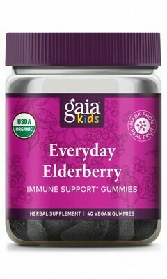 GaiaKids® Everyday Elderberry Gummies