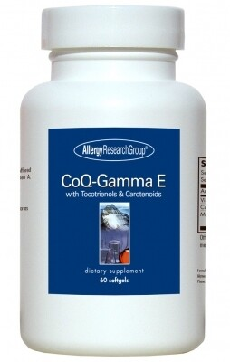 CoQ-Gamma E Allergy Research Group 60 softgels