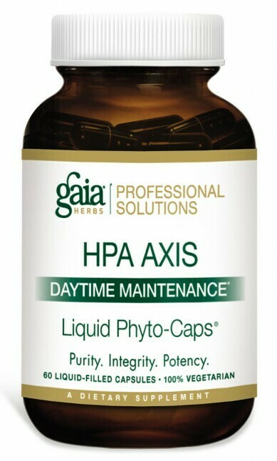 HPA Axis: Daytime Maintenance 120 capsules Gaia Herbs