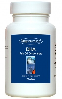DHA 90 Softgels Allergy Research Group