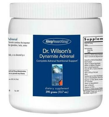 Dr. Wilson's Dynamite Adrenal Powder 390 g Allergy Research Group