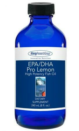 EPA/DHA Pro Lemon Allergy Research Group 8 oz (240 mL)