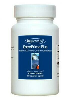 EstroPrime Plus  60 Vegetarian Capsules Allergy Research Group