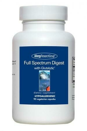 Full Spectrum Digest 90 capsules Allergy Research Group