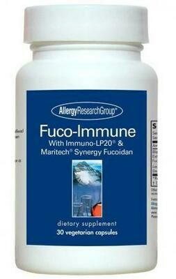 Fuco-Immune Allergy Research Group 30 Vegetarian Capsules