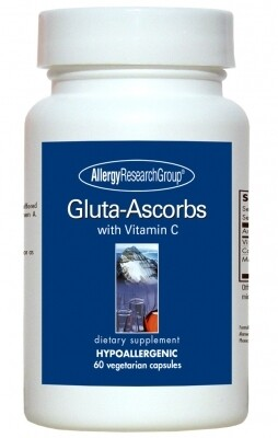 Gluta-Ascorbs 60 capsules Allergy Research Group