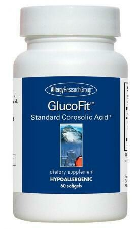 GlucoFit™ ,Allergy Research Group ,60 Softgels