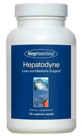 Hepatodyne ,Allergy Research Group,120 Вегетарианская капсулы