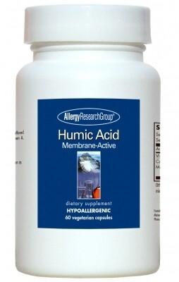 Humic Acid ,Allergy Research Group ,60 Vegetarian Capsules