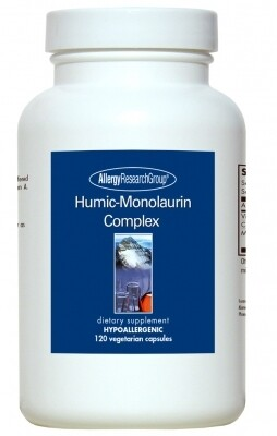 Humic-Monolaurin Complex,Allergy Research Group, 120 Vegetarian Capsules