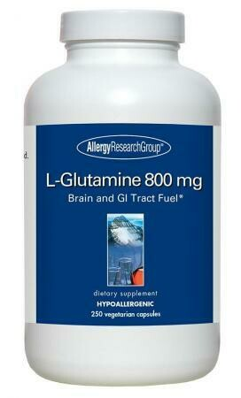 L-Glutamine 800 Mg 250 Vegetarian Capsules
