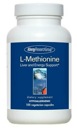 L-Methionine 500 Mg 100 Vegetarian Caps