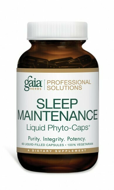 Sleep Maintenance*
