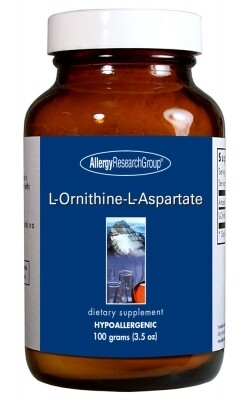 L-Ornithine-L-Aspartate 100 grams Allergy Research Group