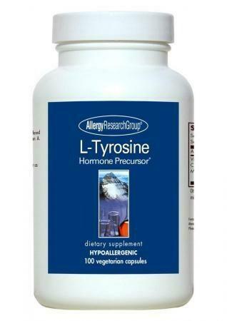 L-Tyrosine 500 Mg 100 Vegetarian Caps