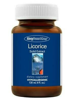 Licorice Solid Extract 120 mL  Allergy Research Group