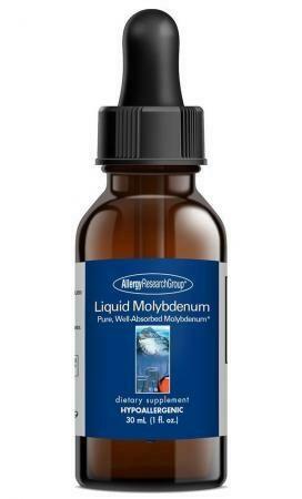 Liquid Molybdenum ,Allergy Research Group ,30 mL (1 fl. oz.)