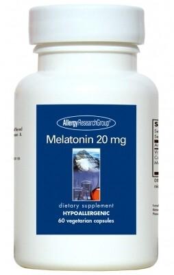 Melatonin 20 мg 60 capsules  Allergy Research Group